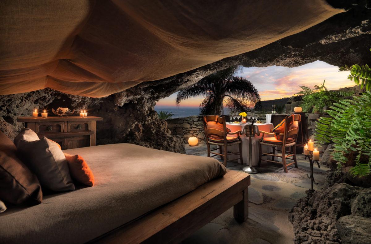 Cueva für 2 Personen Hotel Le Tecina La Gomera