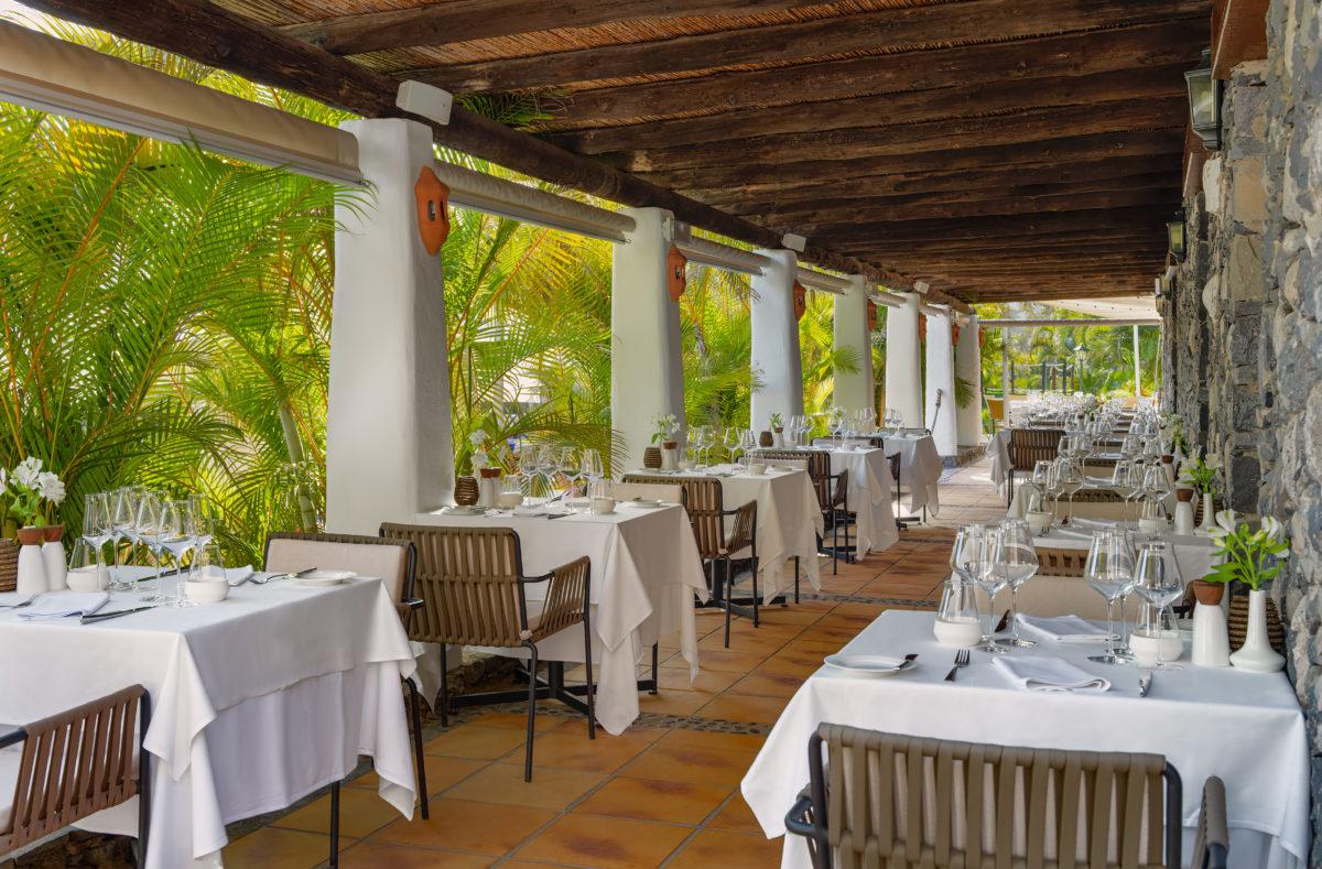 Restaurant El Laurel Hotel La Tecina La Gomera
