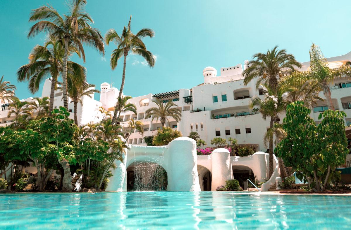 Schwimmbad des Hotels Jardin Tropical Teneriffa