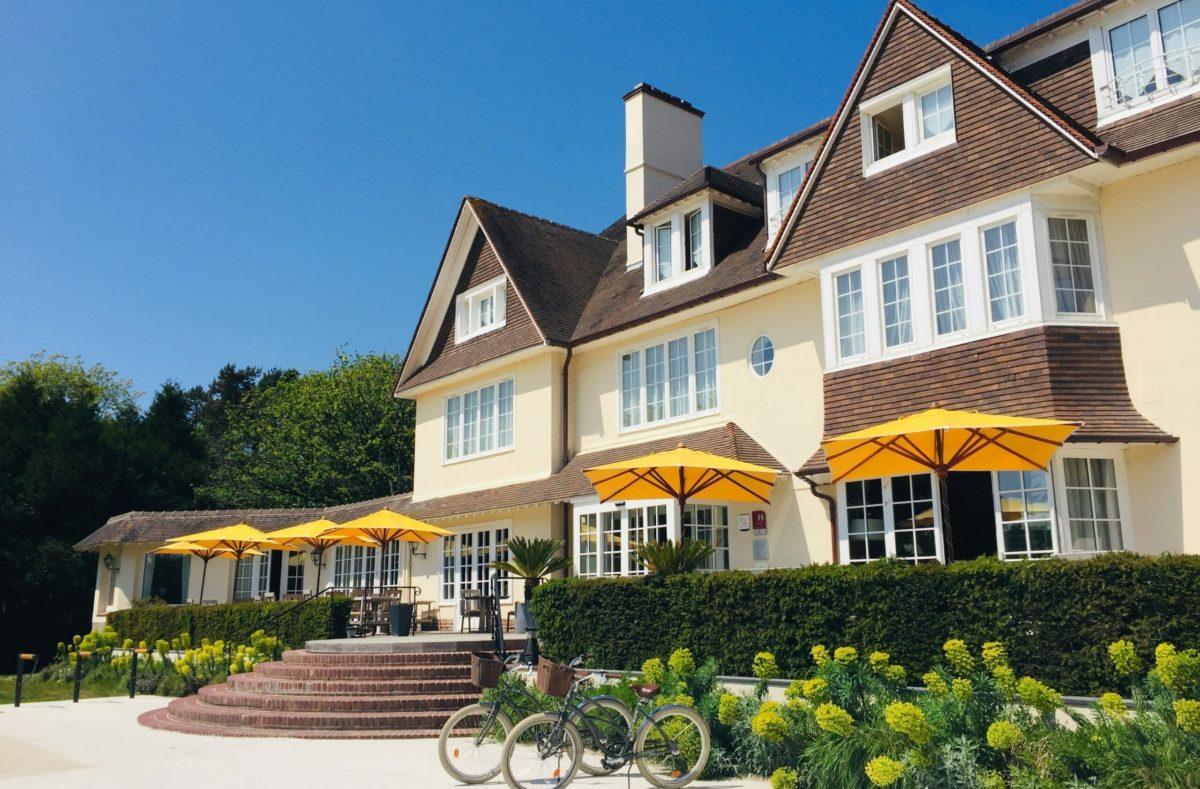 Manoir Hôtel für einen Golfplatz an der Opal-Küste