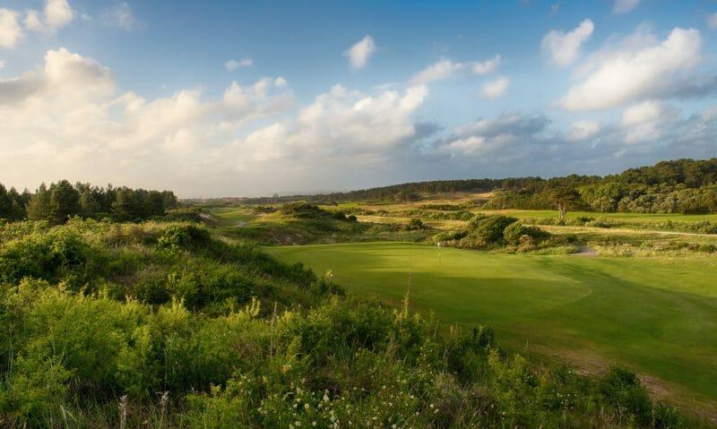 Golfplatz La Mer au Touquet in Frankreich