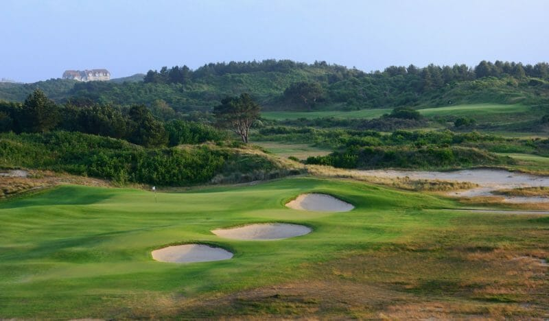 Links zum Golfclub La Mer au Touquet