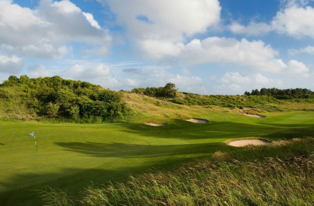 Golfplatz des Golfclubs La Mer au Touquet