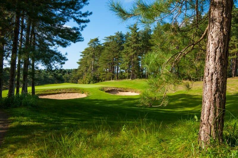 Hardelot-Golfplätze an der Opal-Küste