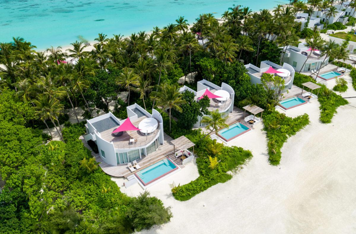 Lux Nord Malé Atoll Strand Villa Held 3