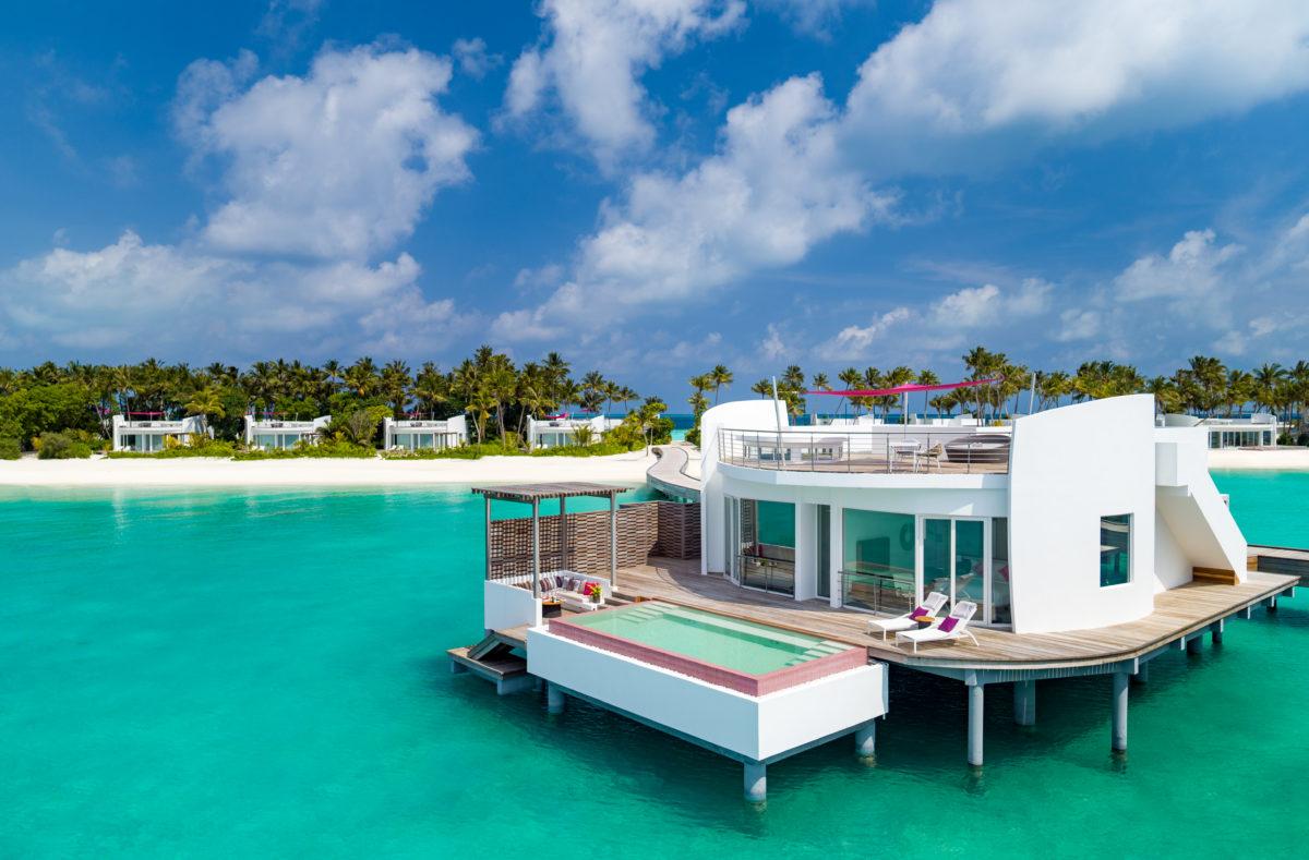 LUX North Malé Atoll Water Villa Hero