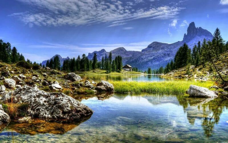 Die Dolomiten - Reisen ohne Flugzeug