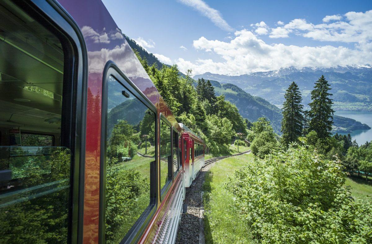 Anreise zur Rigi mit dem Zug