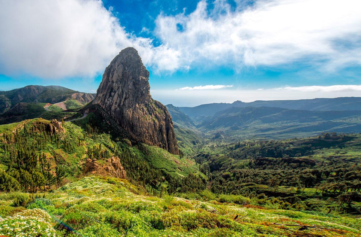 Roque Argando National Park La Gomera