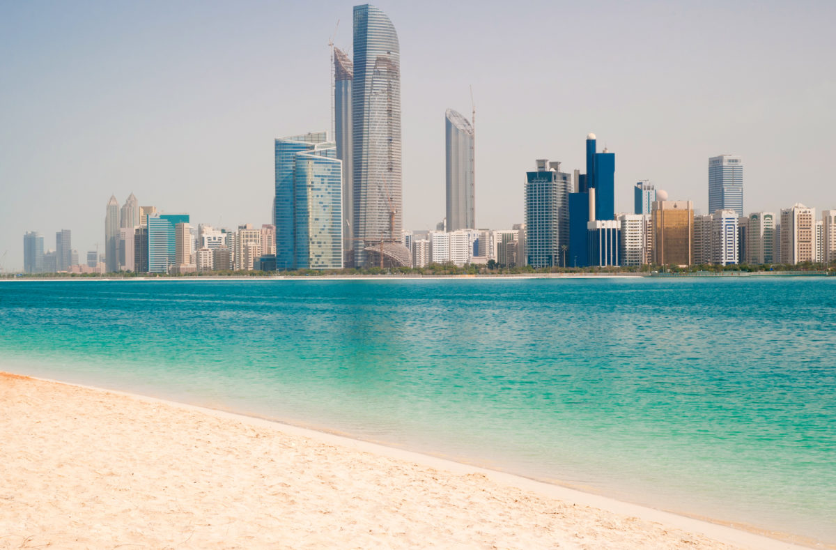 Metropole an der Golfküste von Dubai