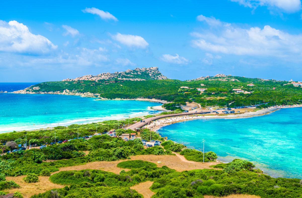 Strand Rena di Levante und Rena Di Ponente Nord Sardinien