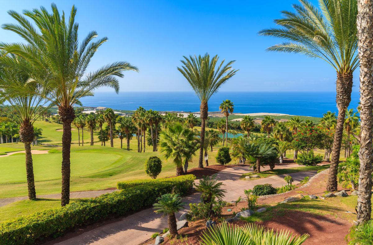 Golfplatz Teneriffa