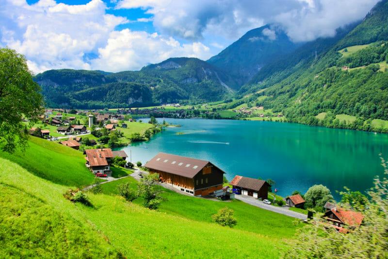 Gruppenbesuch am Lungernsee in der Zentralschweiz