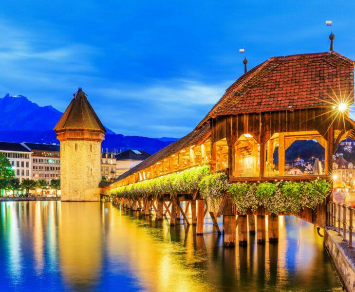 Gruppenbesuch in Luzern in der Zentralschweiz