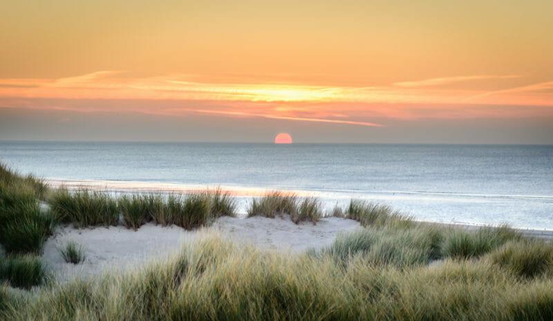 Touquet Strand an der Opal-Küste