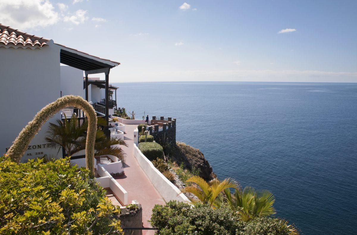 Blick vom Hotel Jardin Tecina La Gomera