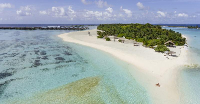 Inselansicht Paradise Island Resort Malediven