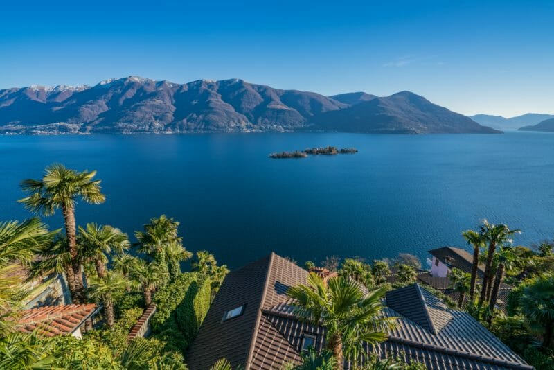 Besuchen Brissago-Inseln im Lago Maggiore im Tessin