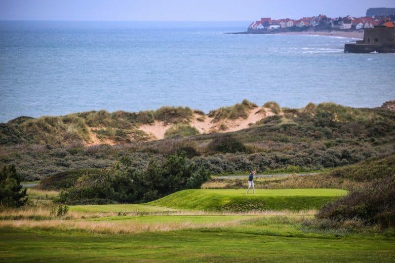 Golf an der Opal-Küste in Frankreich