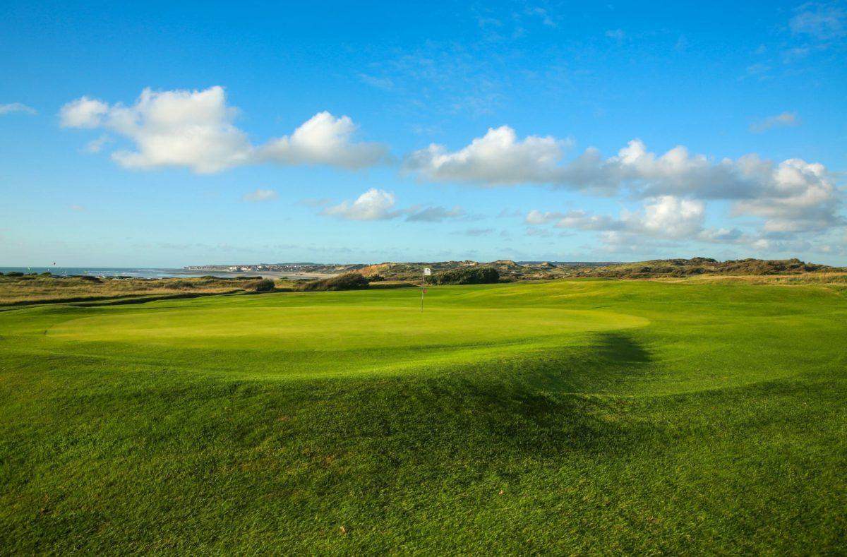 Golf in Wimereux an der Opal-Küste