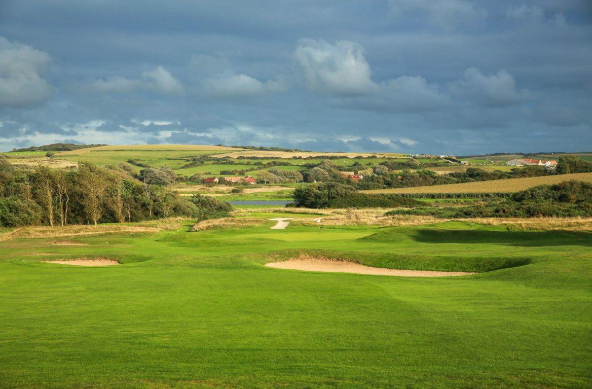 Golfplatz in Wimereux au Touquet