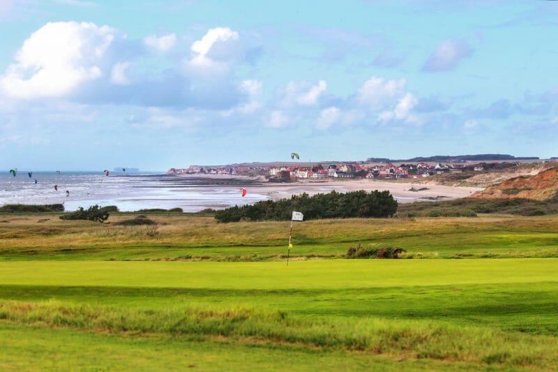 Golf-Platzreifekurs mit Golf-Pro an der Opal-Küste