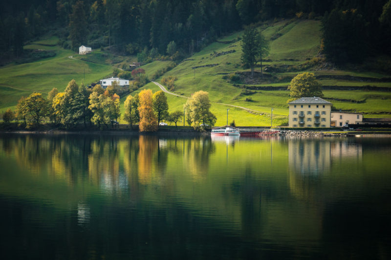 Lac di Poschiavo Graubünden