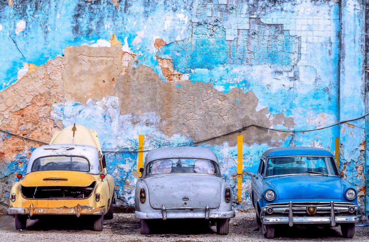 Auto der 1950er Jahre in Havanna