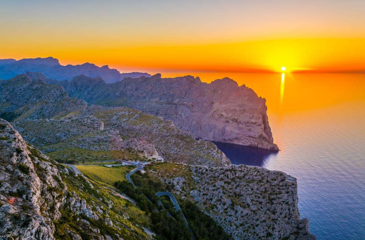 Einrollen in Mallorca