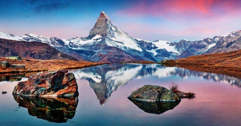 Stellisee-Wanderung mit Blick auf das Matterhorn