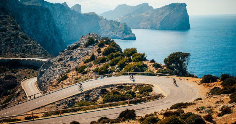 Radfahren am Kap Formentor auf Mallorca