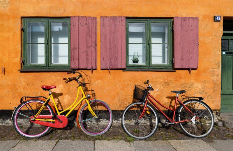 Besuch in Kopenhagen mit dem Fahrrad