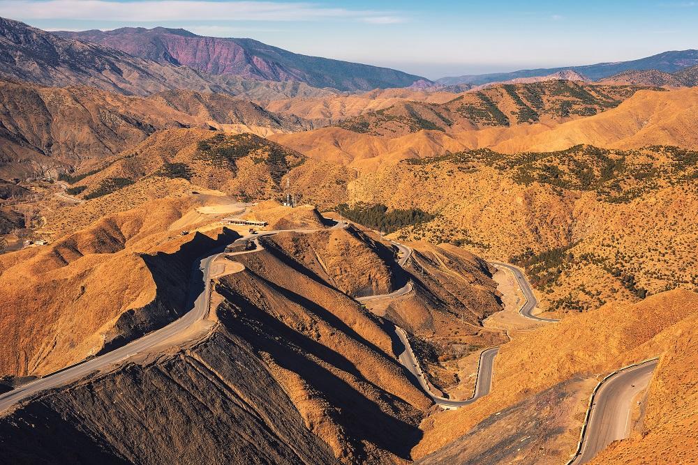 Tizi N'Tichka Pass Marokko
