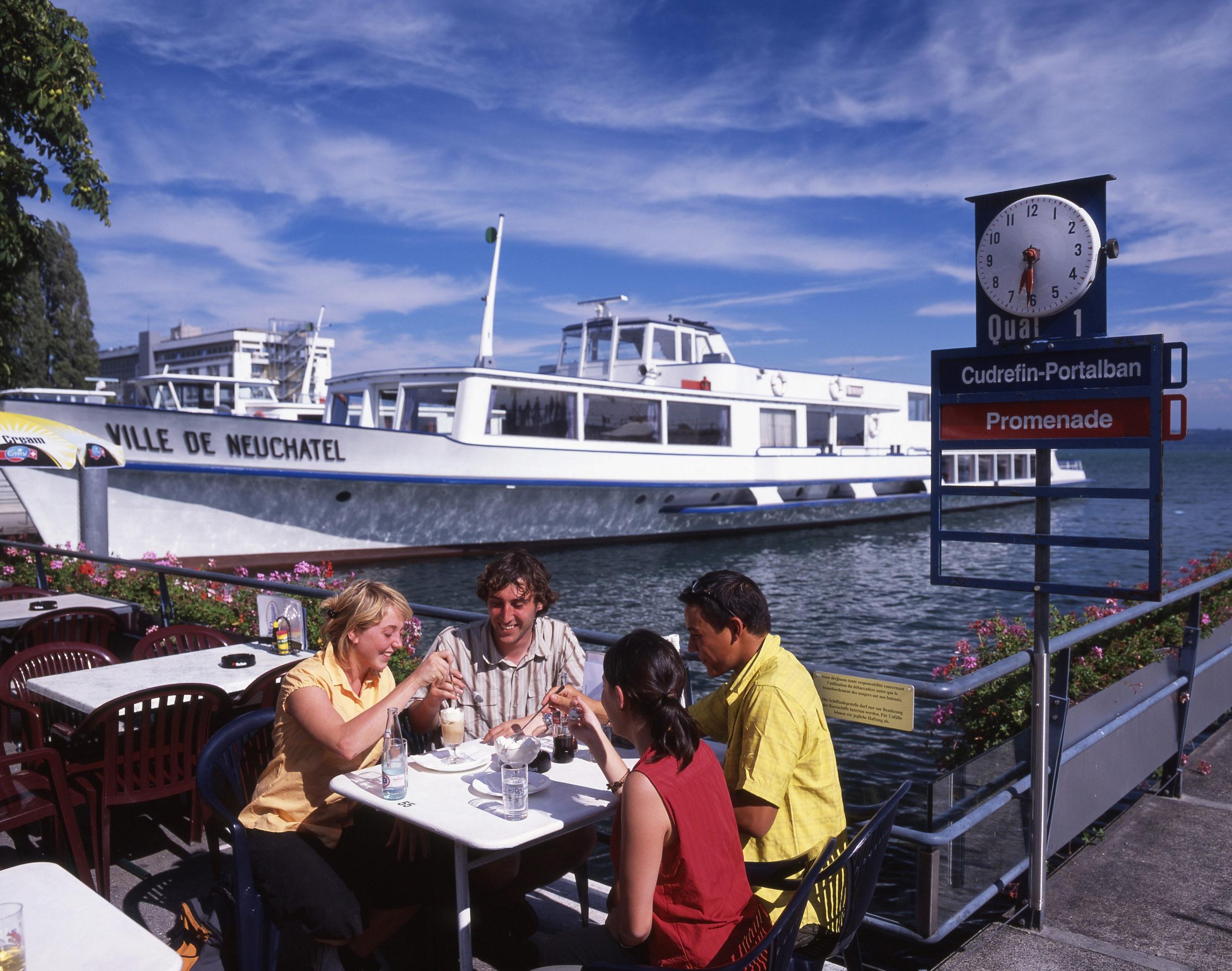 Kreuzfahrt auf dem Neuenburgersee