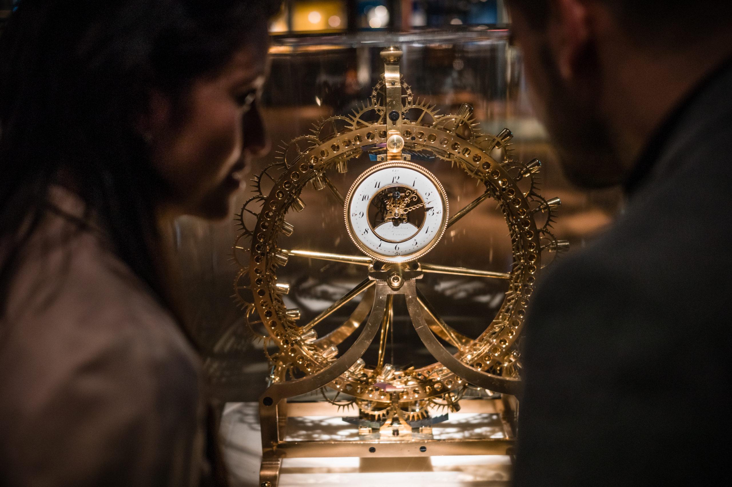Besuch des Internationalen Uhrmachermuseums