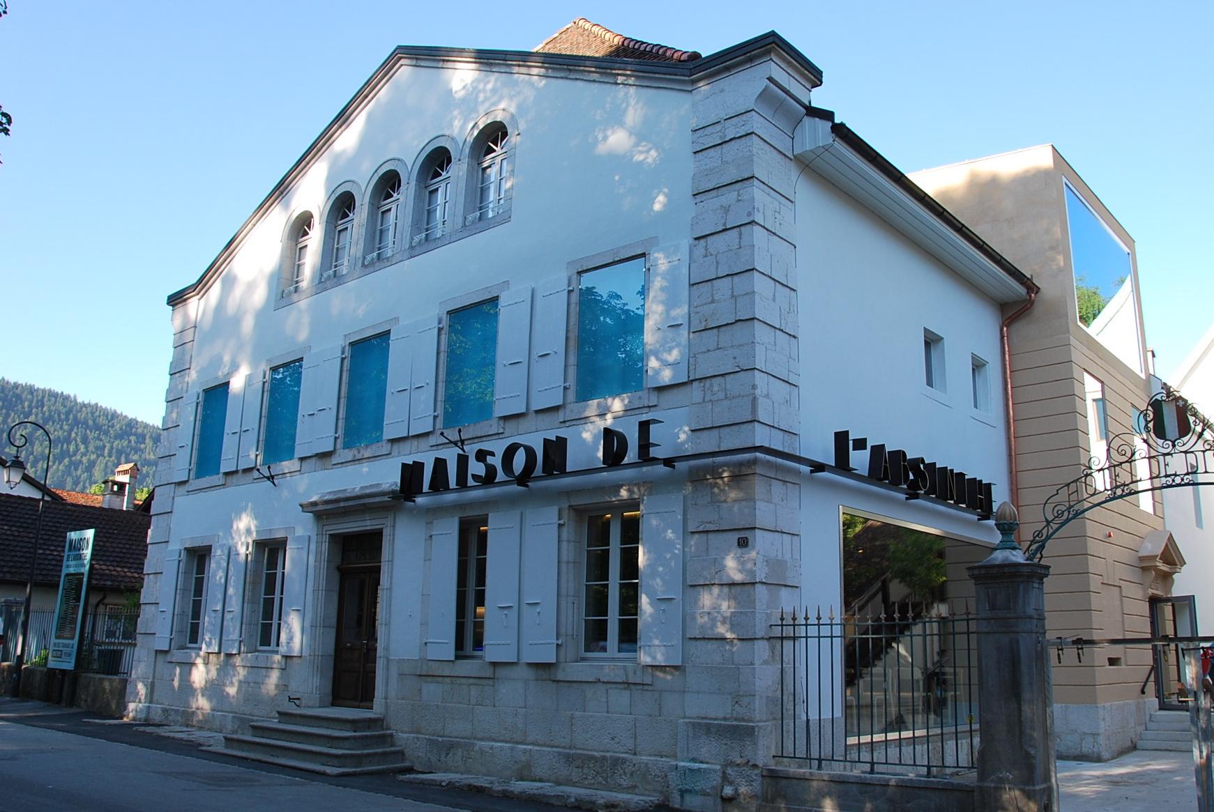 Besuchen Sie das Maison de l'Absinthe in Môtiers