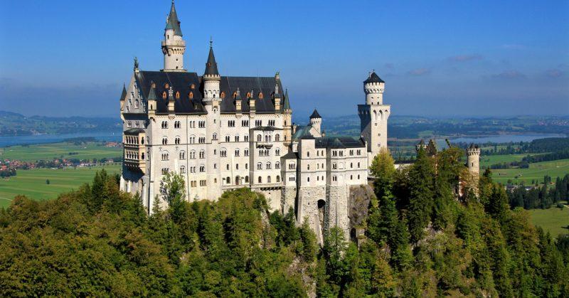 Besuch in Deutschland und Schloss Neuschwanstein