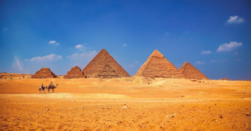 Pyramiden Gizeh Ägypten historisches Reiseziel
