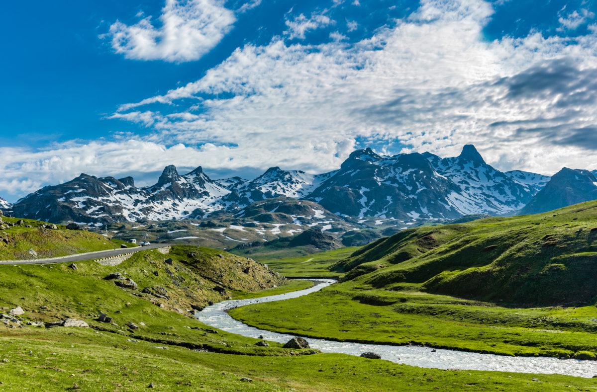 Col du Pourtalet in den Pyrenäen