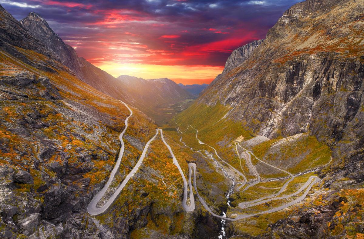 Trollstigen Straße, Norwegen
