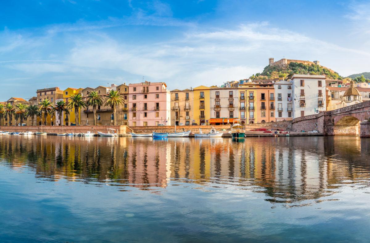 Bosa auf Sardinien