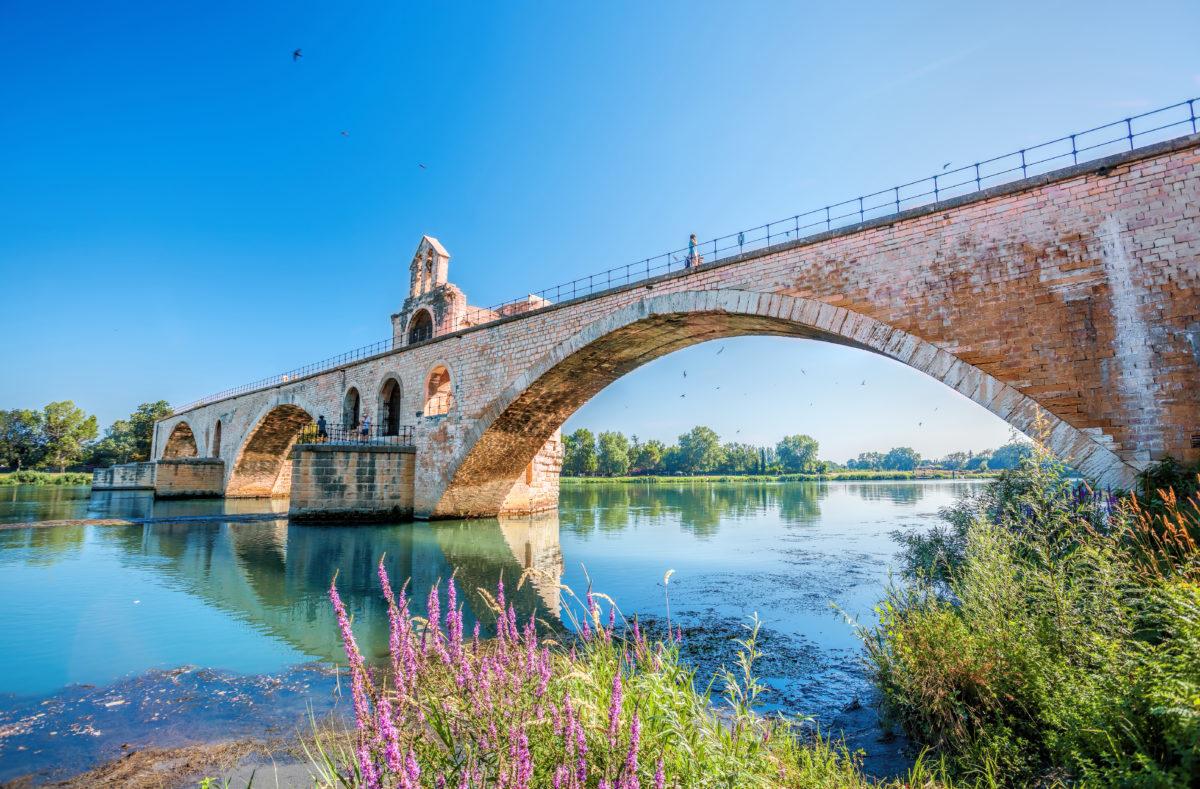 Pont Saint-Bénézet Avignon in der Provence