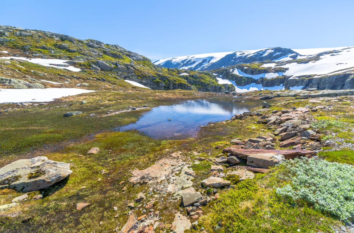 Sirdal nach Kjerag, Norwegen