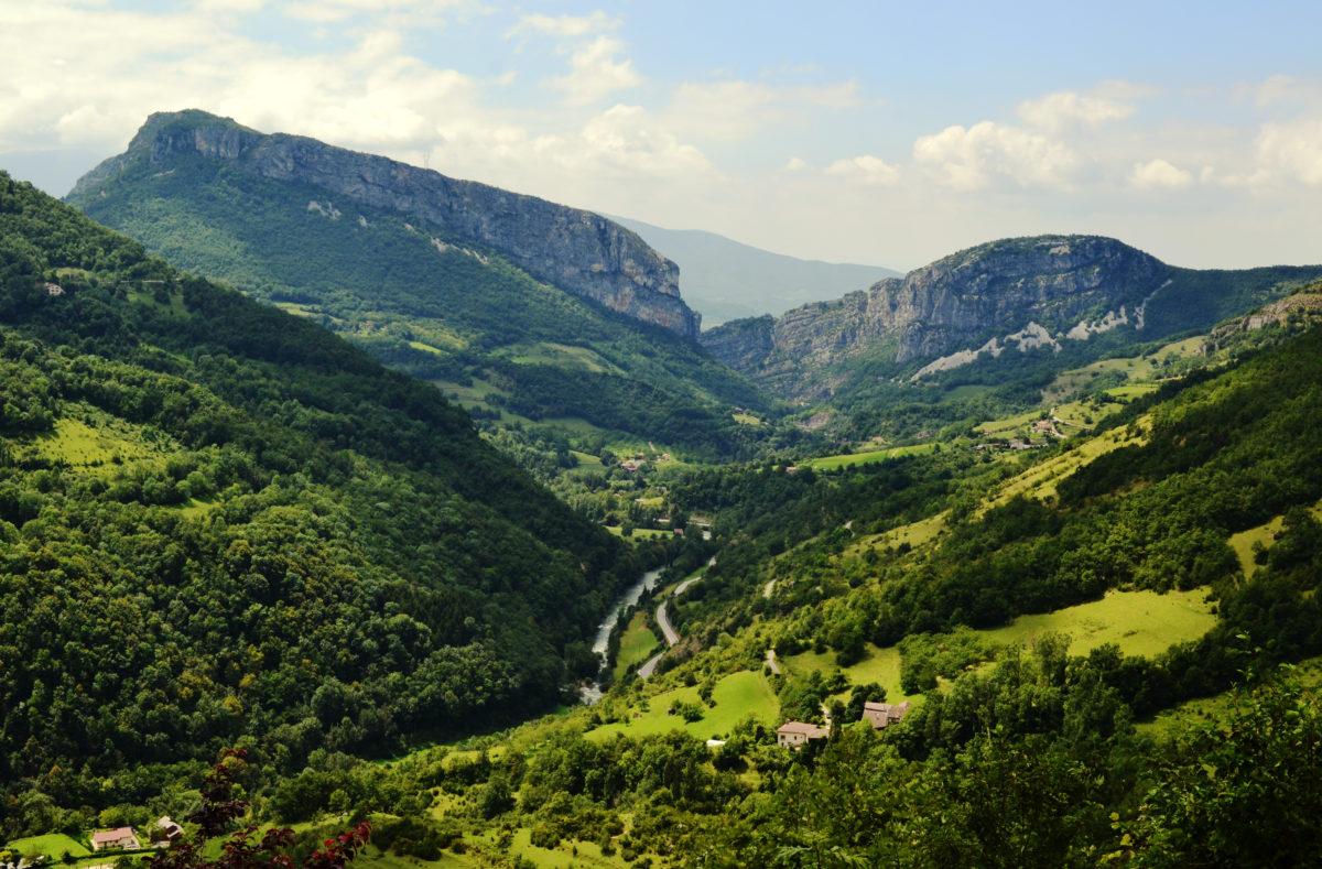 Massif du Vercors Roadtrip Frankreich