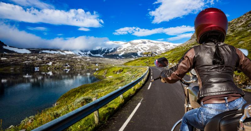 Fahrradtour in Norwegen