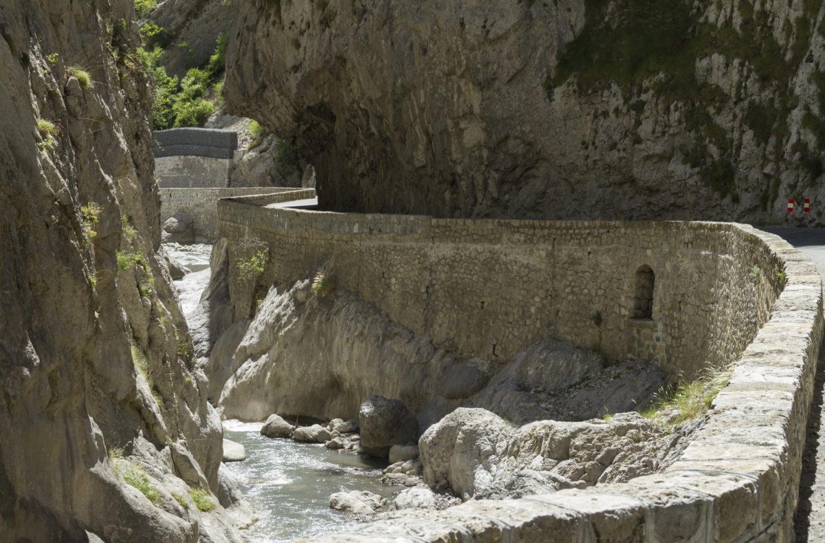 Clues de Barles, gorge near Digne les Bains
