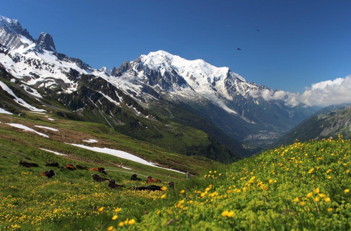 Französische Alpen Motorrad Road Trip