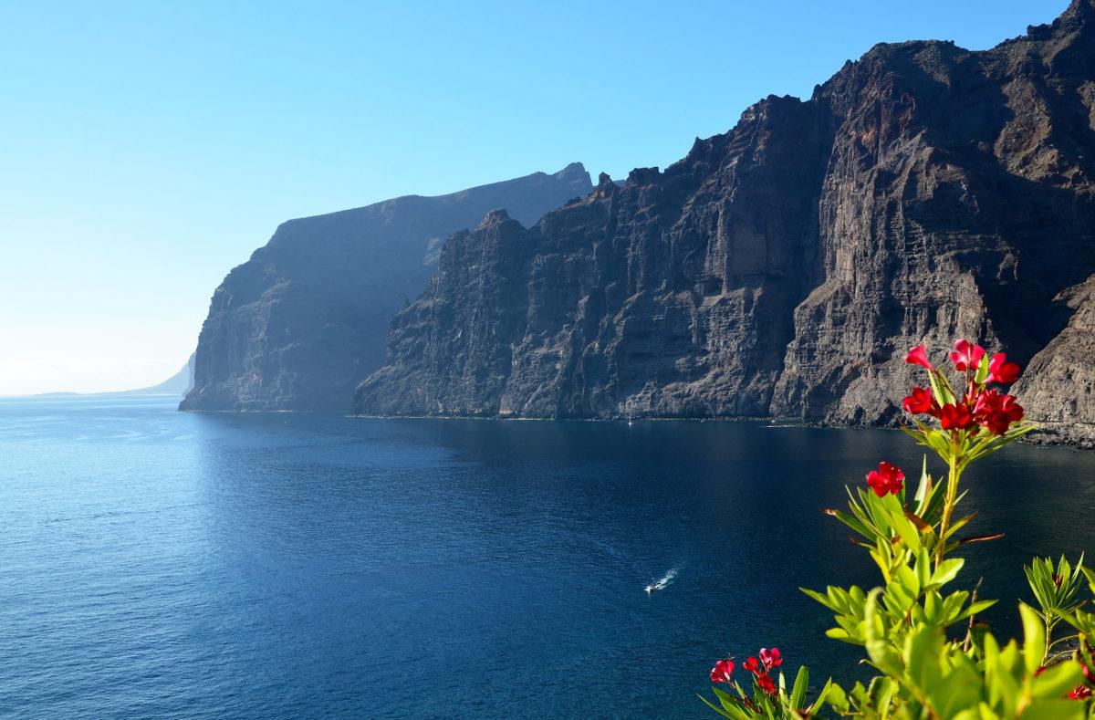 die Steilküste von Los Gigantes auf Teneriffa