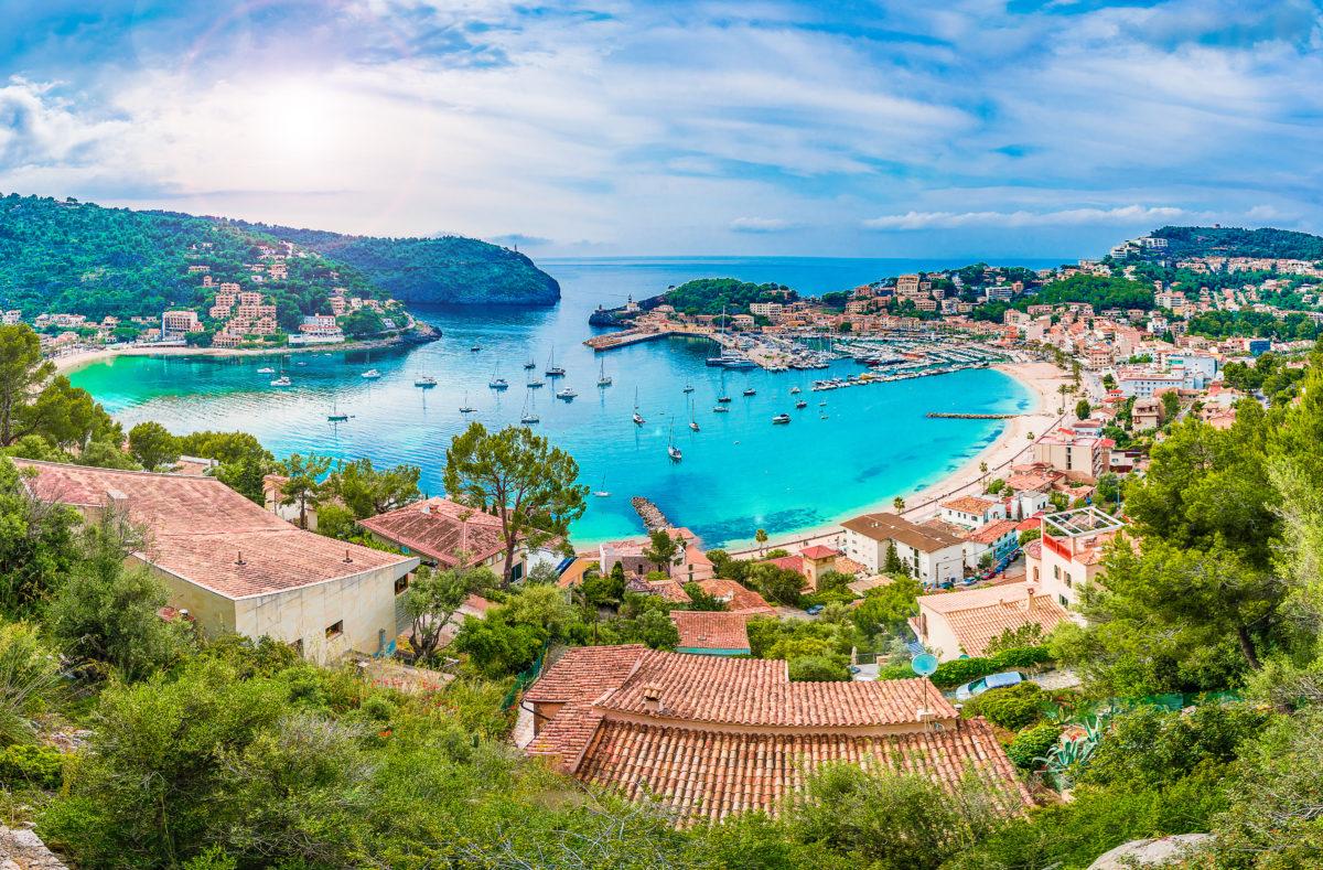Hafen von Soller Mallorca
