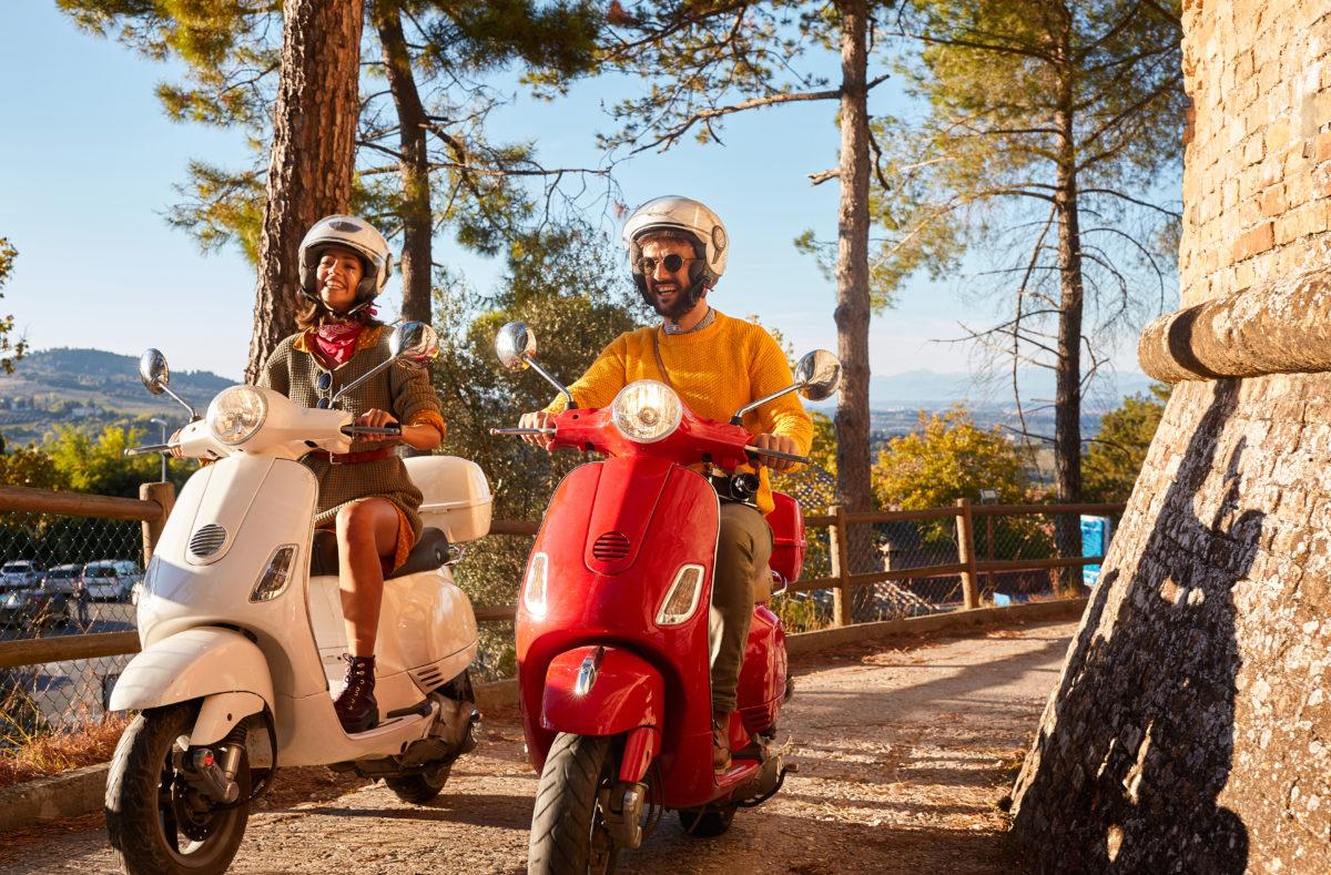 Geführte Scooter-Reise in der Toskana